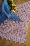 Fiber Trends Flower Basket Shawl S-2014