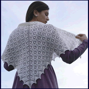 Fiber Trends Angel Lace Shawl S-2018 - Click Image to Close