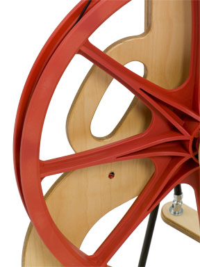 Schacht Ladybug Spinning Wheel - Click Image to Close