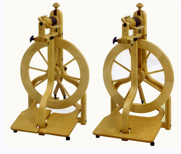 Schacht Matchless Double Treadle Spinning Wheel - Click Image to Close