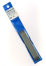 Addi Aluminum Double Point Needles 4""