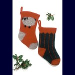 Fiber Trends Felt Christmas Stockings FT-204