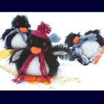 Fiber Trends Felted Penguin Kit